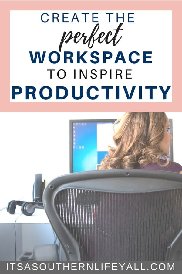 Productivity is increased when you create a perfect workspace. Tips, tools, tricks, and hacks for an organized and productive work area and desk.