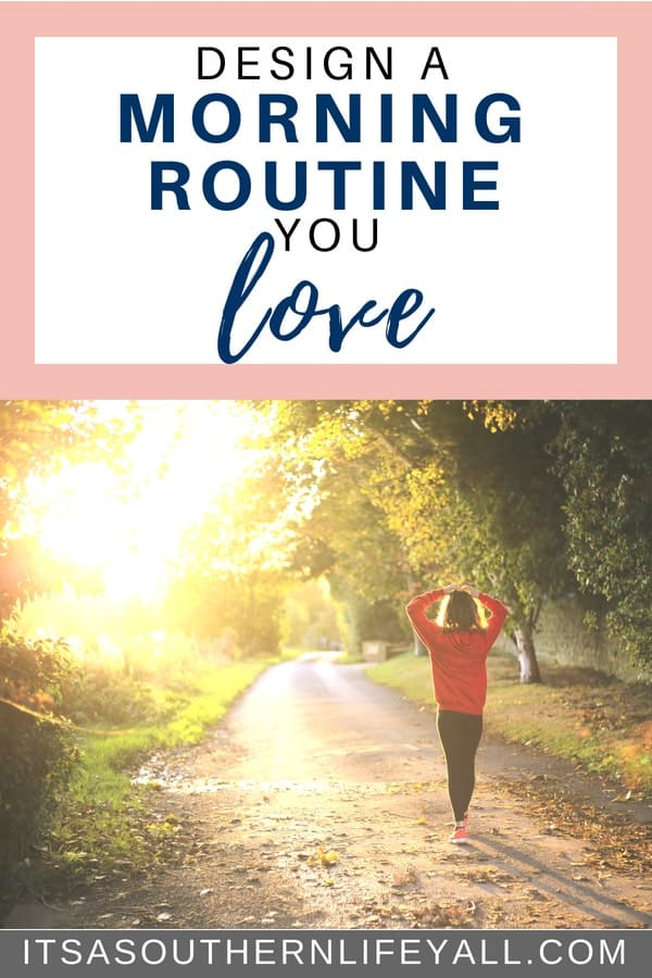 Design a morning routine you love to increase your productivity at home and work. Schedule and plan your life to be your most healthy and productive self in life. Routines bring out the best in you and gives you something to look forward to when you wake up.