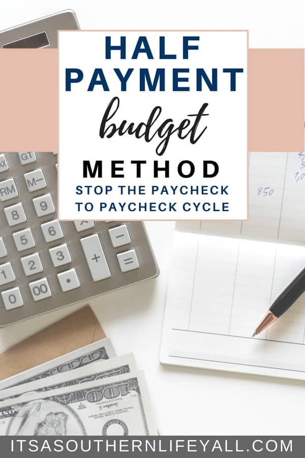The half payment budget method can help break the cycle of living paycheck to paycheck. Manage your finances better using this budget tip. Budgeting becomes easier when you have your money distributed evenly.