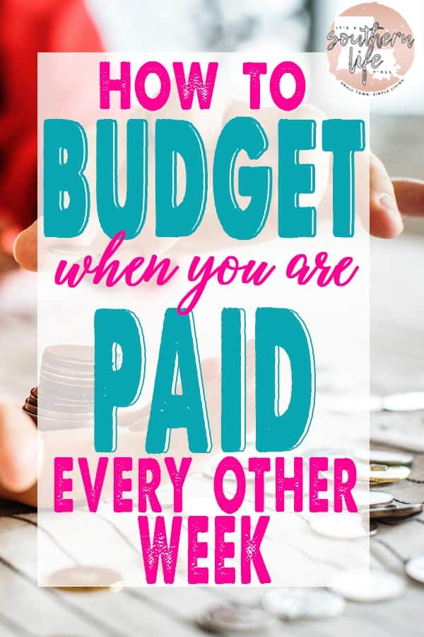 Budgeting when you are paid biweekly is easy when you know how. Make ends meet and control your spending with the half payment method.