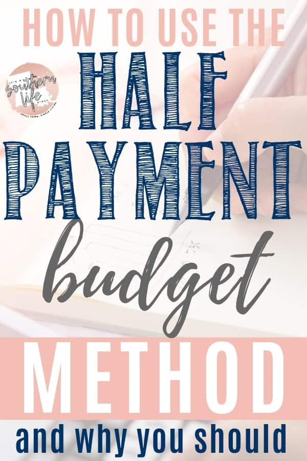Are you having trouble making your ends meet when paying your monthly bills? The Half Payment Budget Method may be able to help by teaching you how to take control of your money.