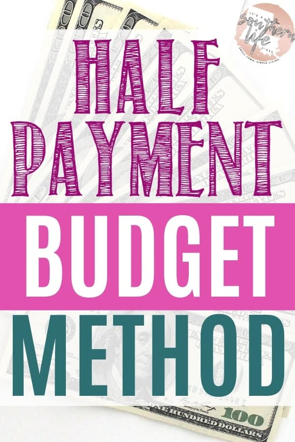 Budget your money easily when you use the half payment budget method. Learn to balance your payments throughout the monthly leaving you with more income to spare. Financial freedom is in your grasp when you know how to manage your payments.