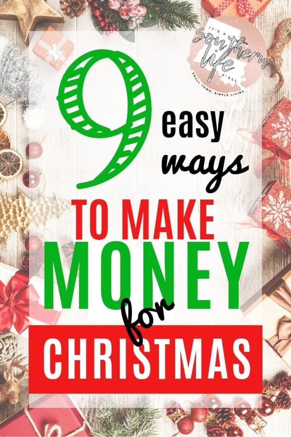 Easy Ways to Make Extra Money for Christmas - It's a