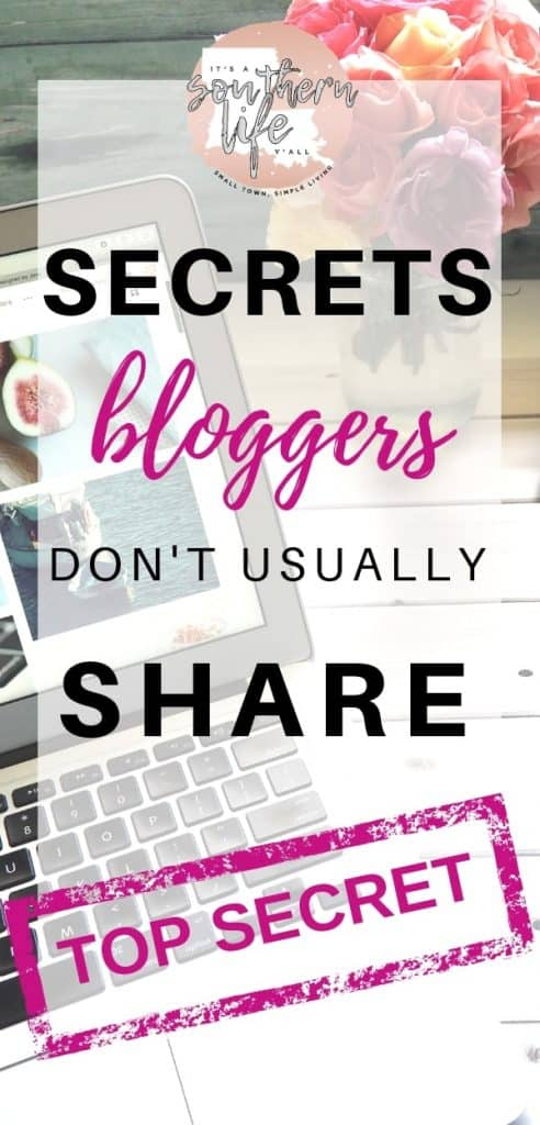 Blogger secrets that are usually shared. Learn blogging tips that will help you start a money making blog.