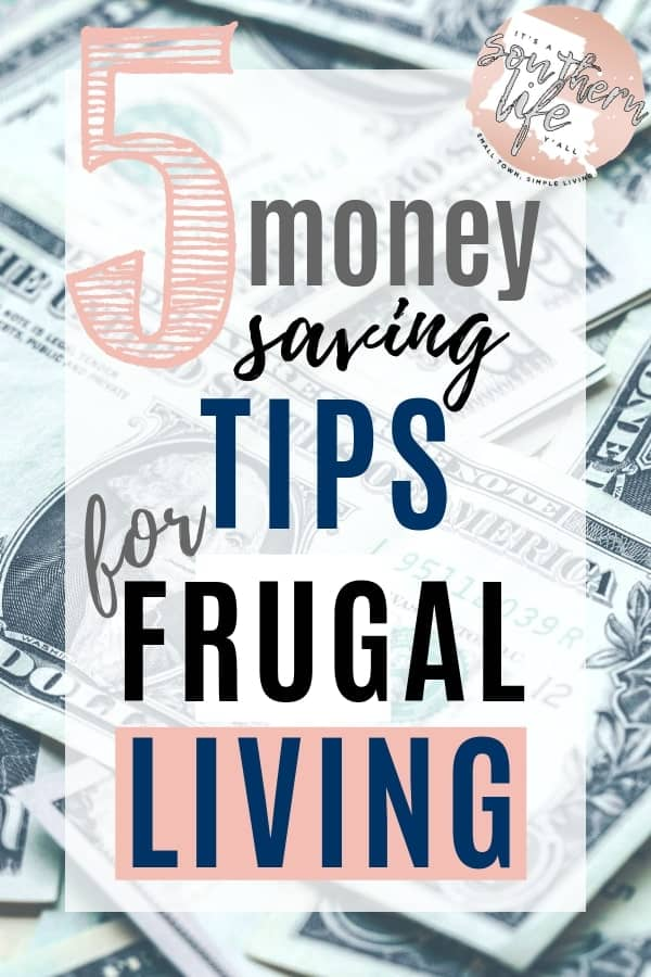 Money saving tips to help you meet your frugal living goals. Find ways to cut your costs and keep your spending low.