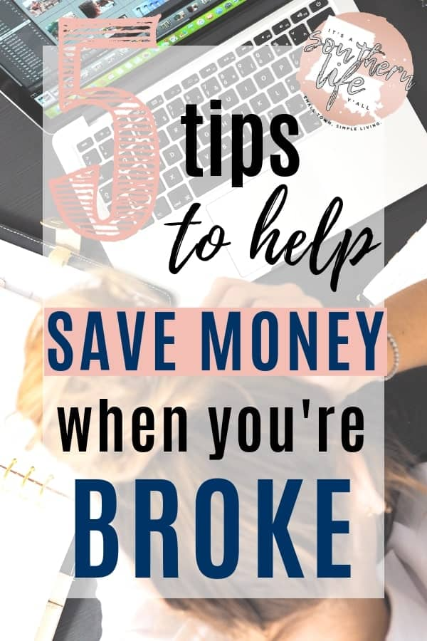 Saving money isn't easy when you are broke. You have tried every budget you can find, but you still can't make ends meet. Here you will find actionable financial tips you can use to take the steps necessary to give you financial freedom.