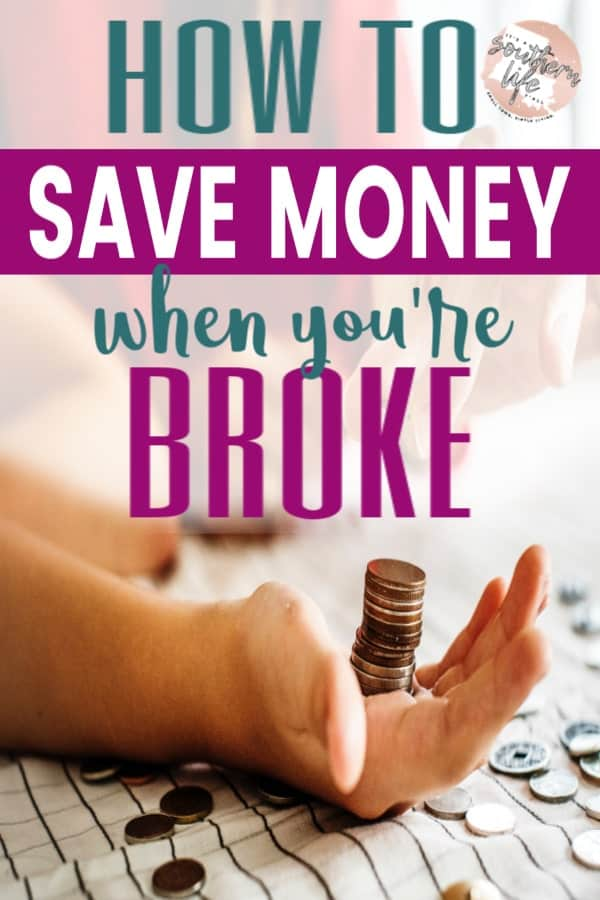Saving money is hard when you are broke as hell. Budgeting is harder when you have no money and aren't sure where you can cut. Take control of your finances and start saving now.