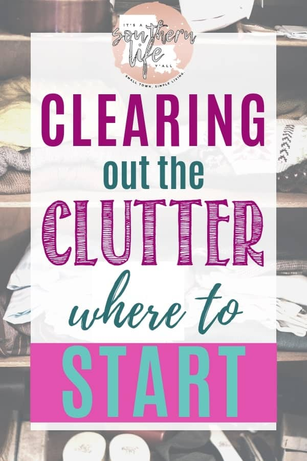 Decluttering your home is never easy when you don't know where to start. Clear the clutter easily with these tips and questions to help you clean your home.