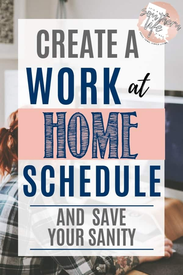 Create a work at home schedule to balance your work and life daily. Be your most productive self with proper time management when you work from home.