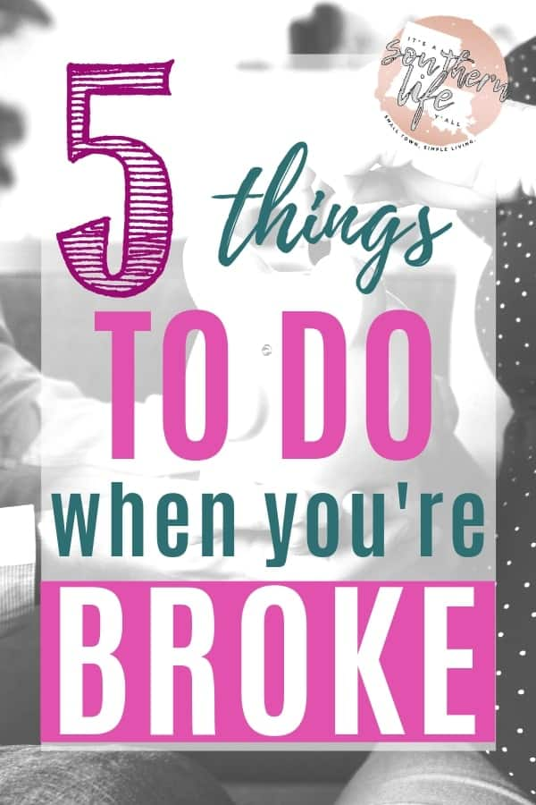 When you are broke, it seems impossible to save money. Here you will find financial tips to help you cut your spending when you feel broke as hell. Budgeting when you have no money. Free printable budget binder. #budgeting #budgeting101 #budget #savemoney #savingmoney #finance #personalfinance #financebinder #printables #printableplanner #freeprintable