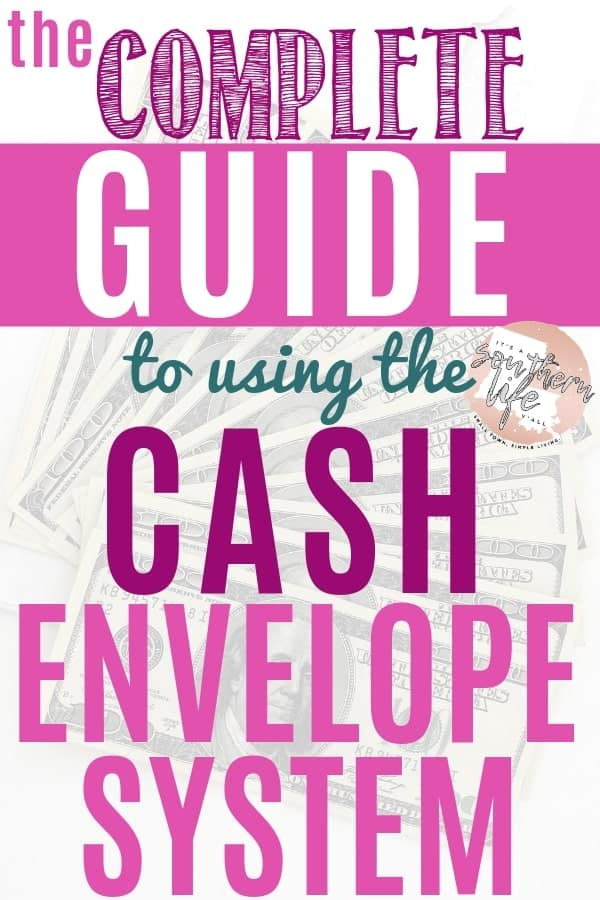 The cash envelope budget system can help you manage your finances and lead you to financial freedom. Use this simple budget to stop overspending and track your money.