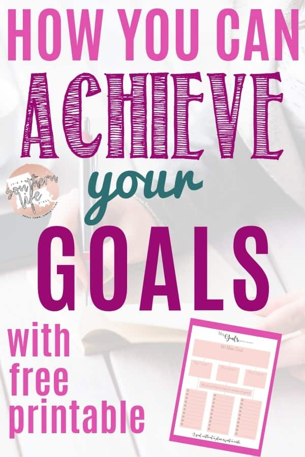 Are your long-term goals feeling out of reach? Setting mini-goals may be the key to achieving your bigger goals this year. Learn how to set and achieve mini-goals and use my free mini-goal planner printable.