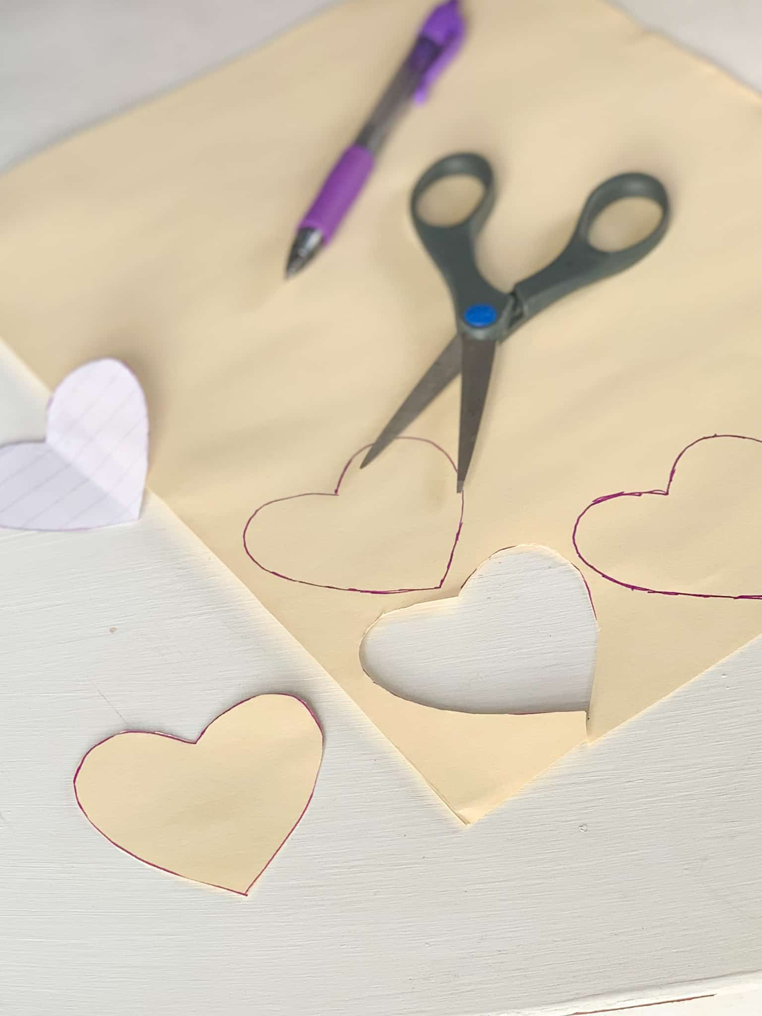 Cutting hearts out.