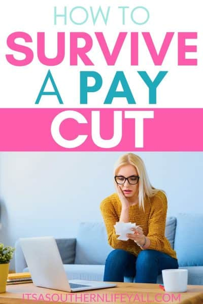 How To Survive a Pay Cut
